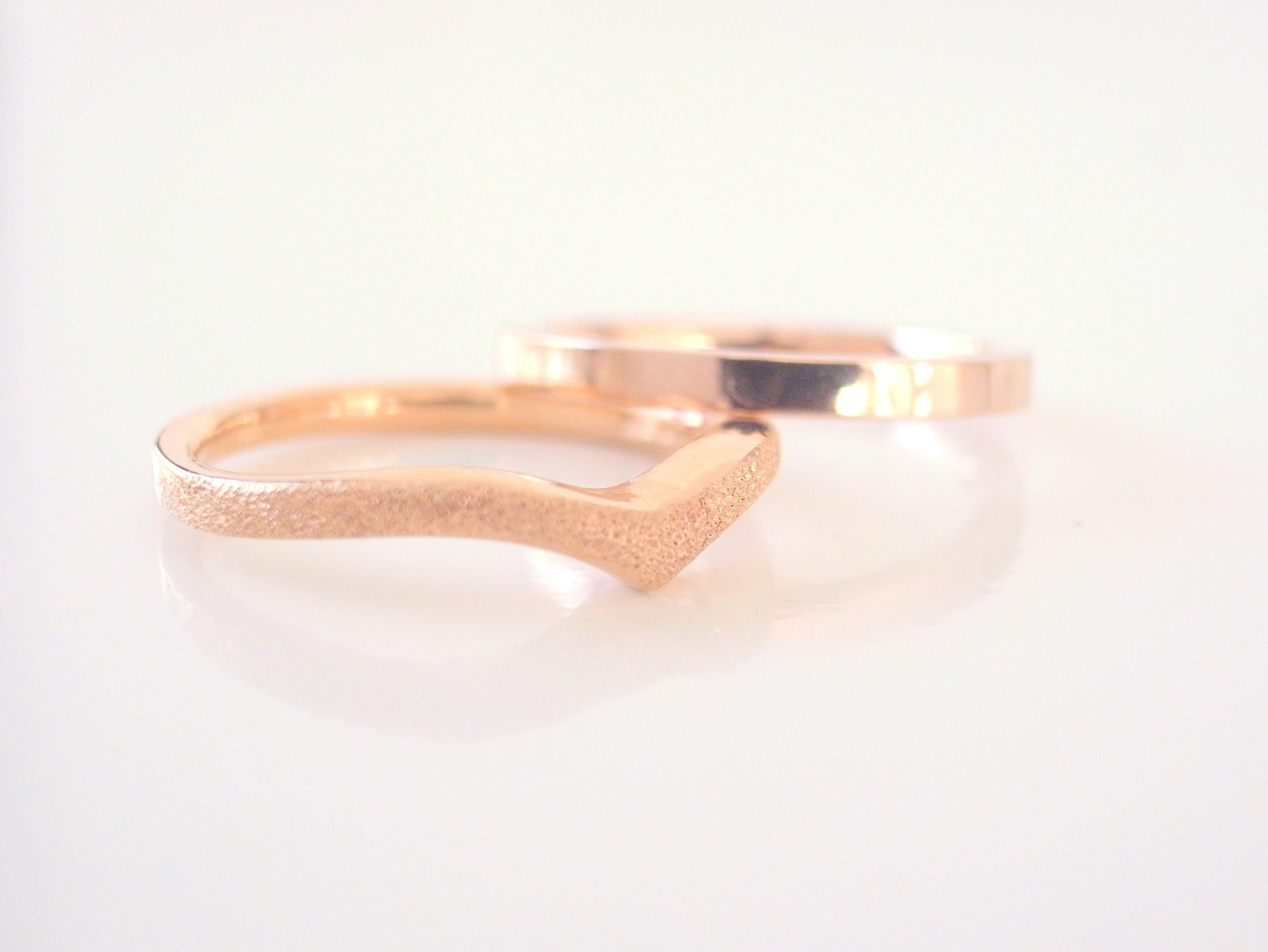結婚指輪・婚約指輪のピンクゴールド
