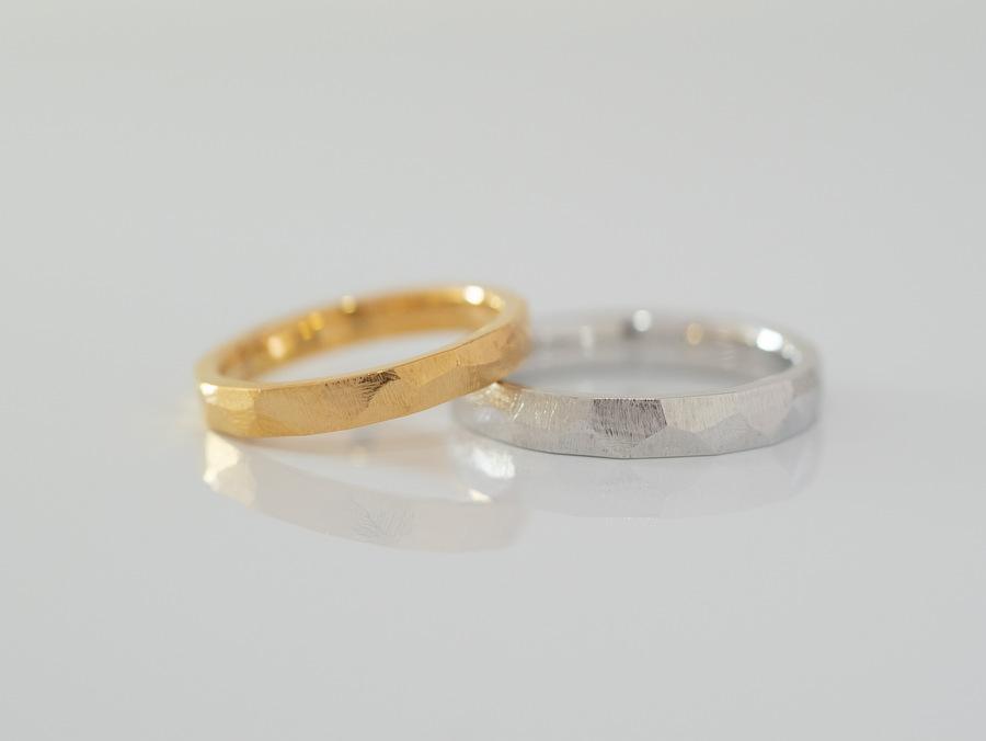 常に着けているのに向く結婚指輪/素材・デザイン...