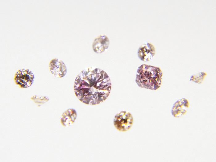 ピンクダイヤモンドについて...