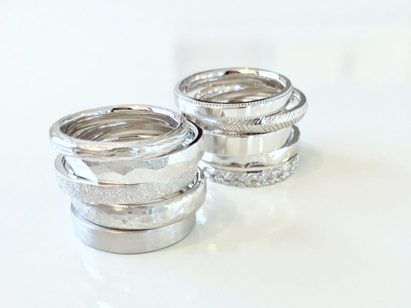 結婚指輪の表面処理(テクスチャー)について...