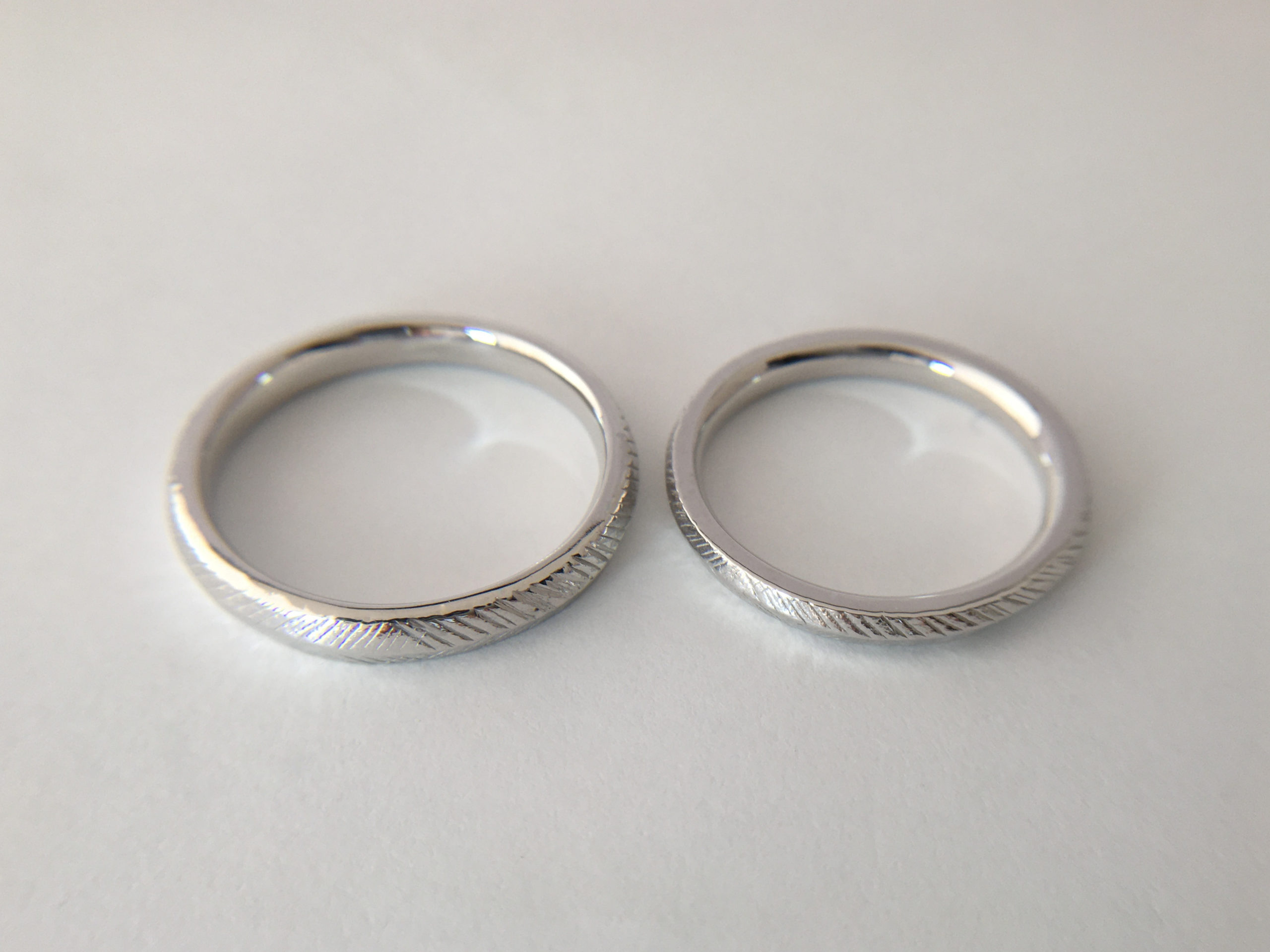 素敵なお二人に合った結婚指輪づくりを...