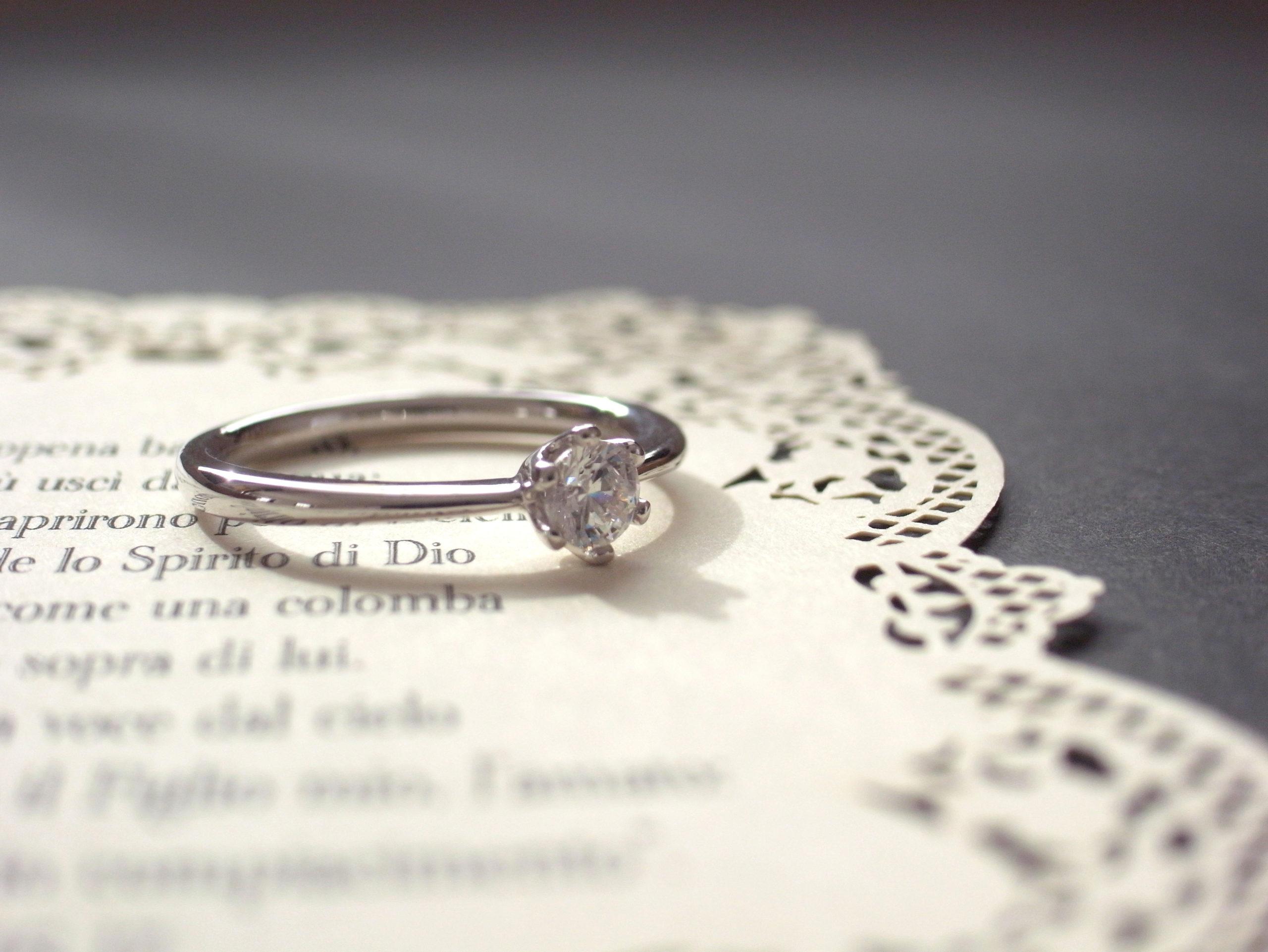 婚約指輪・後悔しないために・・・。...