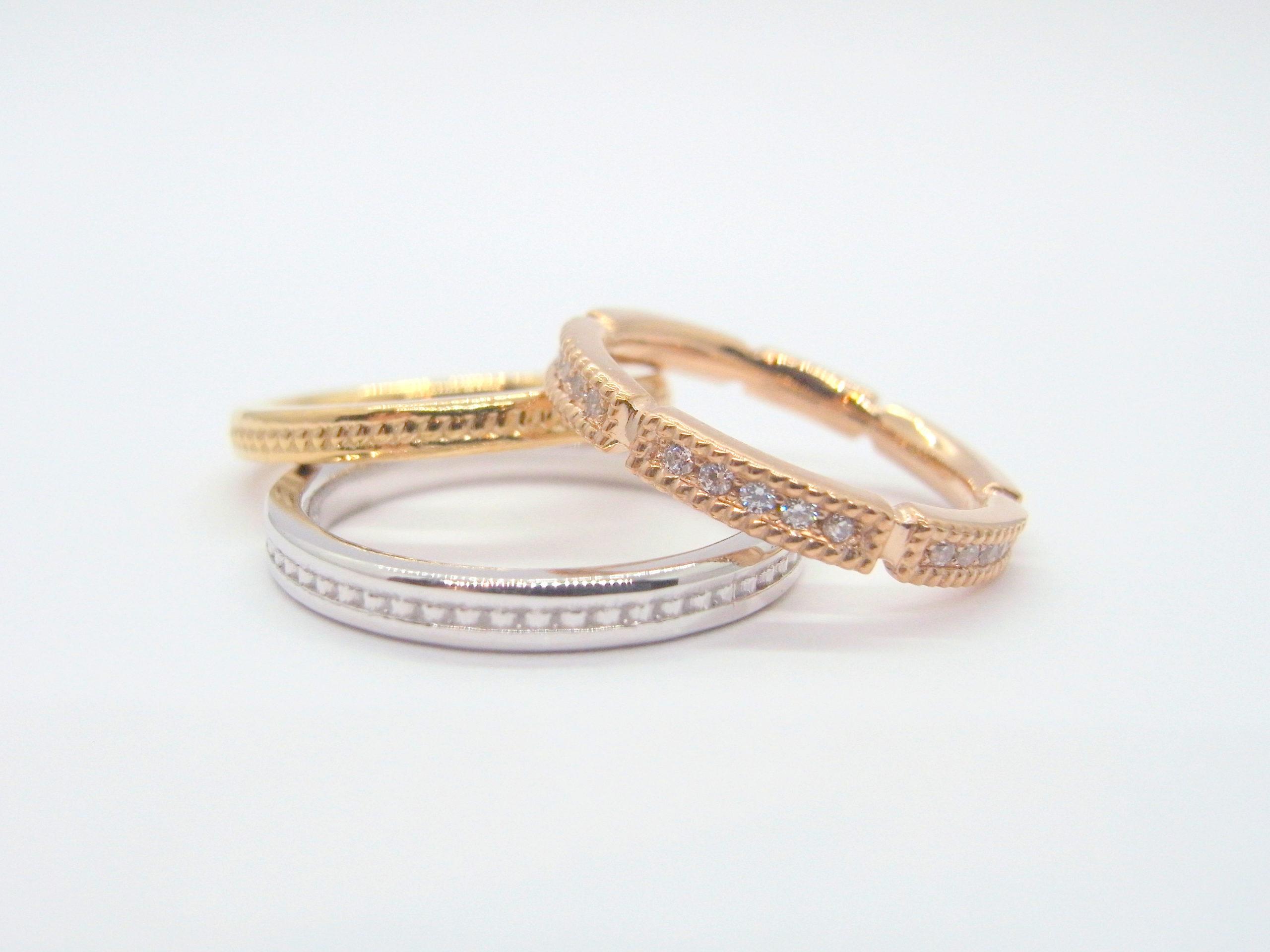 ゴールドの結婚指輪について...
