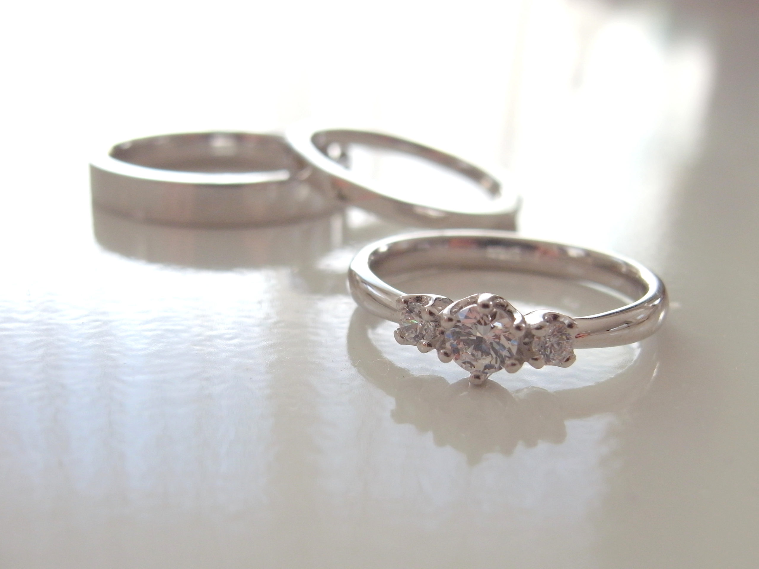 資産としての結婚指輪・婚約指輪...