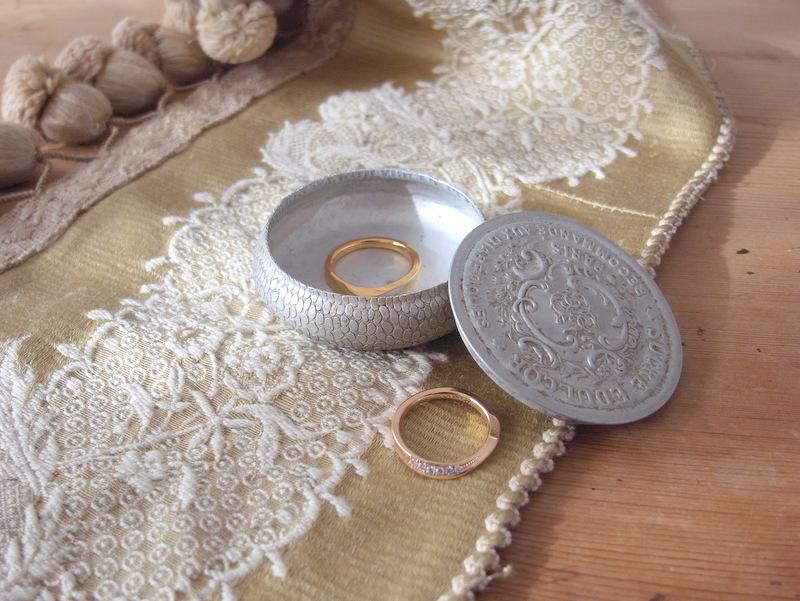 結婚指輪の保管方法について...