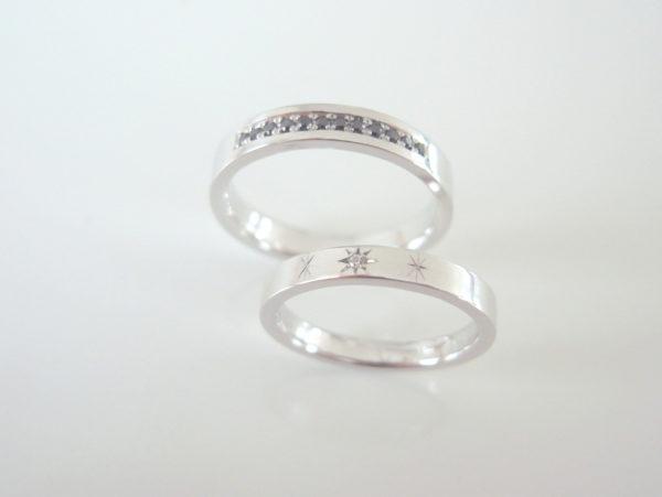 Cieloというプラチナの結婚指輪