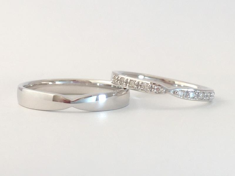 結婚指輪・婚約指輪*メレーダイヤでオーダーメイド...