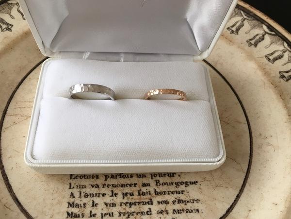 結婚指輪Spirito Lunareのオーダーメイド...